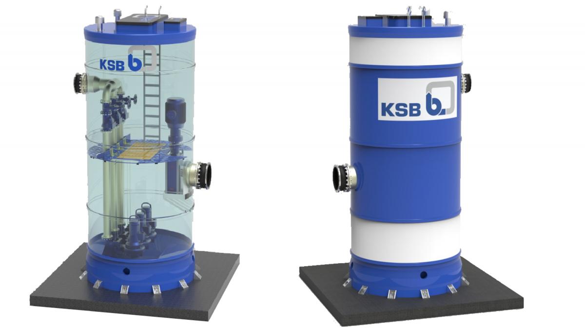 KSB pump station Amaclean CN