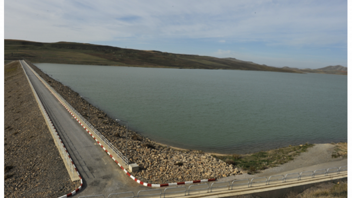 Transfer of water from the Athmania reservoir