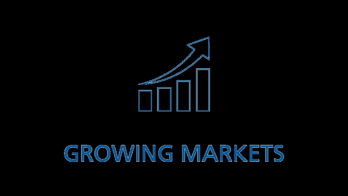 Growing markets