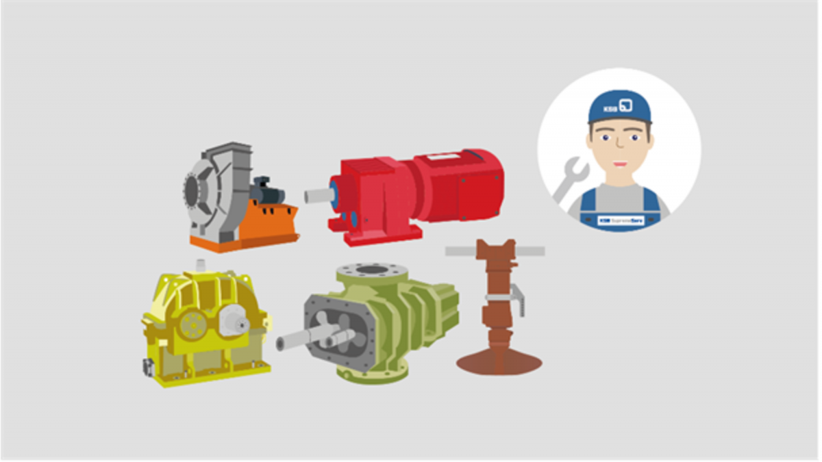 Service for other rotating equipment
