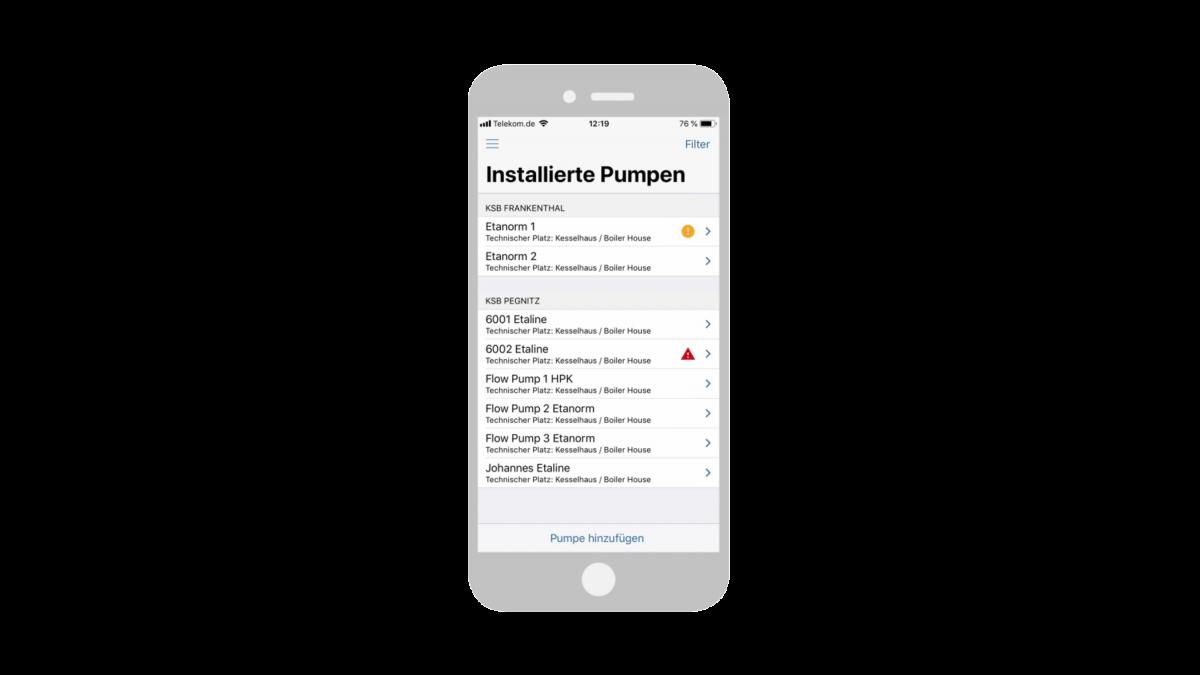 4. KSB Guard Web-Portal und App