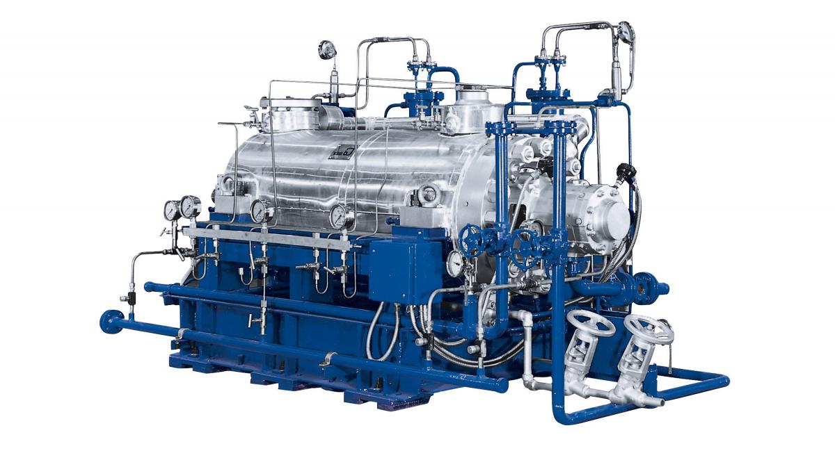 Pumpen der CHTD-Baureihe werden in der Energietechnik eingesetzt.